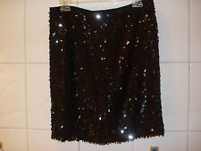 ANN TAYLOR FASHION EVENING SKIRT,BLACK, size S, USA-6,NEW ORG.$ 98 /ok 390zl/