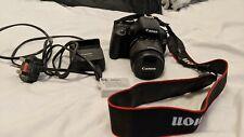 Canon EOS 600D 18.0MP Digital SLR Camera - Black (Kit w/ EF-S 18-55mm IS II Len…