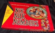 Vtg 1967 NIK-NAK NUMBERS Board Game Complete Cadaco #265