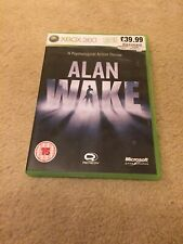 Alan Wake Xbox 360 UK PAL **PLAYABLE ON XBOX ONE** (Code Included)