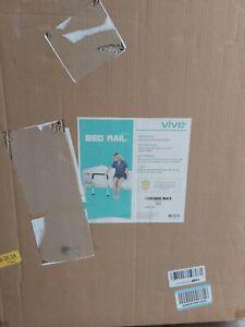 Vive Bed Assist Rail - Adult Bedside Standing Bar For Seniors, Elderly, Handicap