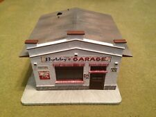G SCALE POLA BOBBY'S GARAGE - NEW - COA #0982 - WITH BOX AND ACCESSORIES - 1986