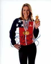 SUMMER SANDERS signed autographed OLYMPIC GOLD MEDAL SUEBEE HONEY photo