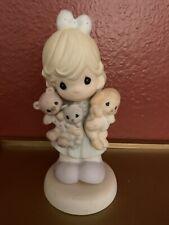 """Precious Moments 2002, """"Family'S Fur-Ever"""" Figurine"""
