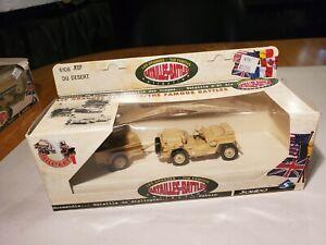 Solido (France)1;50 Scale # 6108 DU Desert Diecast Jeep Unused  Org Box #1