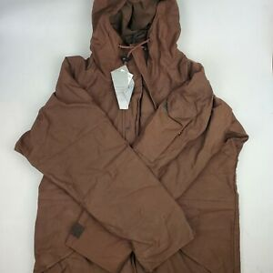 Alpha Industries M-65 Field Parka Brown Small Regular Extreme Cold Weather Hood