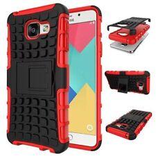 Housses et coques anti-chocs rouges en plastique rigide pour téléphone mobile et assistant personnel (PDA) Samsung