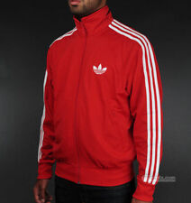 Original Adidas Firebird Jacke Gr L rot Herrenjacke Trainingsjacke Vintage Retro