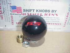 Chevy SS, Super Sport  Shift Knob, GM Licensed, Logo on top (Black)
