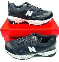 New Balance Mens 801 Running Shoes Black ML801SA Lace Up Low Top Mesh Sz 8.5 New