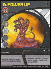 Bakugan Battle Brawlers Ability Card G-Power Up BA230-AB-SM-GBL 35/48b