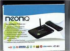 Neon IQ NeonIQ Android Intelligent SMART TV Box with remote control ELAWBTV23