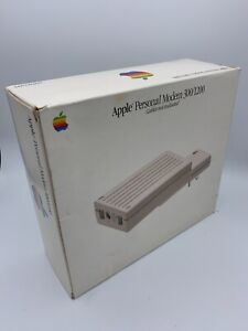 Vintage Apple Personal Modem 300/1200 with Box. No manual
