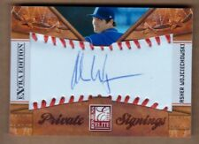 ASHER WOJCIECHOWSKI 2010 Elite AUTO Private Signings Astros Signed Rookie #/125^