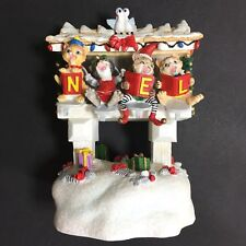 San Francisco Music Box Co. The First Noel Christmas Cats Singing Mailboxes (P10