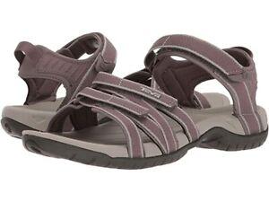 Teva Women's Tirra Vegan Strappy Sandals - Plum Truffle Size 6.5 NWB
