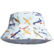Powell Craft Aeroplanes Planes Blue Boys Summer Sun Hat Baby Toddler 1-3 years