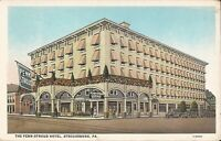 Stroudsburg, PENNSYLVANIA - Penn-Stroud Hotel - ARCHITECTURE - old cars