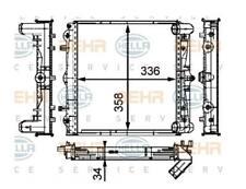 RADIATORE RAFFREDDAMENTO MOTORE PORSCHE 911 (996)BOXSTER 2.5 24V A/C SINIST BHER