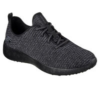 52114 BBK Black Skechers shoes Men Memory Foam Soft Sporty knit mesh Comfort New