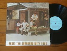 THE SPARTANS FROM THE SPARTANS WITH LOVE LP RARE GOSPEL CHRISTIAN MUSIC VINYL