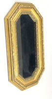 Rare The Bombay Company Vintage Mirror Gold Gilt Rectangular 21x12 Decor HTF
