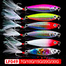 Colorful  Jig Bait Feather Metal Fishing Lures Lead Casting Spinning Baits