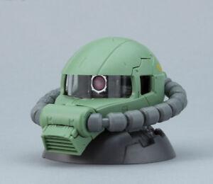 Gundam Exceed Model Vol.3 Zaku Head Figure ~ Mass MS-06F Zaku II Green @20061