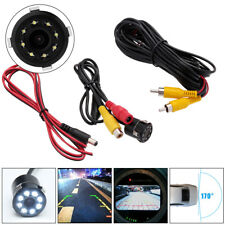 8LED HD Rear View IR Parking Backup Night Visio Car Reversing Camera Waterproof