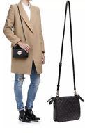 MIMCO Bag Black Leather Secret Couch Pouch Cross Body Hip Handbag BNWT RRP$199