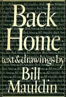Willie and Joe : Back Home Hardcover Bill Mauldin