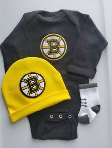 Bruins baby/infant clothes Bruins baby outfit Bruins baby gift Bruins newborn