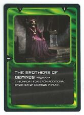 Doctor Who Black Border CCG Creature Card The Brothers Of Demnos Common Card