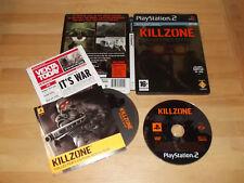 KILLZONE Collector's Edition PS2 PlayStation 2 GAME Brilliant Shooter PAL  Rare!