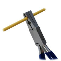 TUBE CUTTING PLIERS HOLD & CUT TUBES RODS 3 SLOTS 2 - 10mm HOLD SQUARE / ROUND