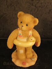 Cherished Teddies Jerry Bear With Inner Tube '96 #203475