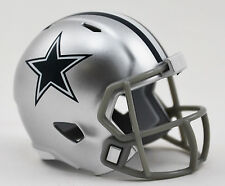 DALLAS COWBOYS NFL Cupcake / Cake Topper Mini Football Helmet