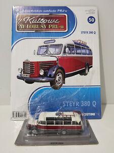 IXO IST STEYR 380Q Kultowe Autobusy PRL-u 1:72 no.50 polish bus barkas
