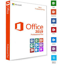 Microsoft OFFICE 2019 PROFESSIONAL PLUS 32/64 BIT LIFETIME LICENCE KEY FOR 1 PC