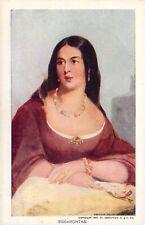 1907 Jamestown Expo, Pocahontas, Old Postcard
