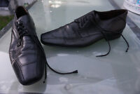 LLOYD Nobile Herren Men Business Schuhe Schnürschuhe edel Gr.8/ 42 schwarz Leder
