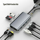 USB C HUB 4K HDMI Adapter USB SD/Micro SD Ethernet RJ45 PD Type C Multi Port LOT