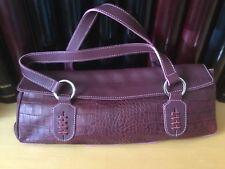 Claudia Firenze Croc Leather Purse New