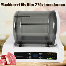 Ac 220V Vacuum Food Pilking Machine Meat Vegetable Marination Salting Instrument