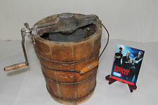 "Antique Ice Cream Maker AS SEEN ON ""Baggage Battles"" Movie Scale Model"