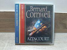 Bernard Cornwell AZINCOURT - CD Audio Book Agincourt Abridged 6 1/2 hours