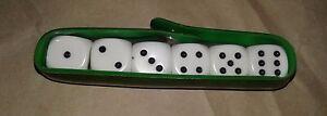 Set of six dice