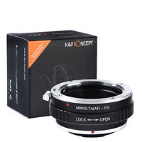 K&F Concept adapter for Minolta AF mount lens to Fujifilm X-Pro2,X-A2,X-E1.X-T1