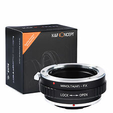 K&F Concept adapter for Minolta AF mount lens to Fujifilm X-Pro2,X-A2,X-E1.X-T1