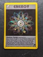 17/82   Rainbow Energy HOLO   Team Rocket   Pokemon Card   Mint